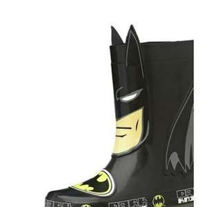 Kids Batman Wellies Argos £6.99