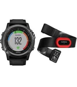 Garmin Fenix 3 HR Sapphire + HRM-Run chest strap / Performer Bundle £389.99 Handtec