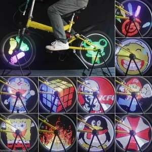 LED Programmable Bicycle Spoke Lights £5.10 delivered using code @ GearBest