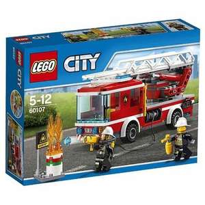 LEGO City Fire 60107: Fire Ladder Truck Mixed £10 @ amazon prime members