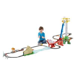 Thomas and friends trackmaster sky high bridge jump set with free 4 thomas festive dvd box set £79.99 delivered @ Smyths Toys Top Christmas Toy