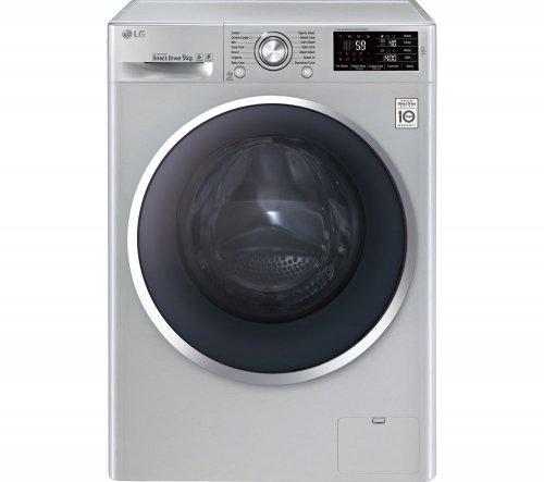 LG FH4U2VCN4 Washing Machine 9kg 1400 RPM Direct Drive, 5 yr warranty + 2.5% TCB £399 @ Currys