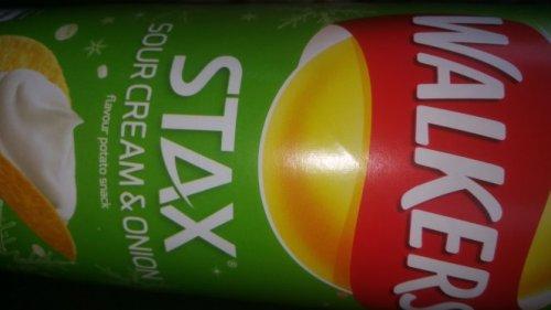 walkers stax , (similar to Pringles) 170g . £1 @ Tesco