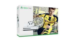 Xbox One S 500GB Console, Fifa 17, Mafia 3 & Extra White Controller For £289 - TESCO