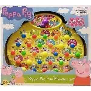 Boots 70% off toys - online only offers - including Peppa Pig Fun Phonics for £7.50