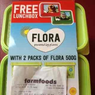 *FREE LUNCHBOX* When you buy 2 packs Original/Light Flora 500G £1.59 @ Farmfoods