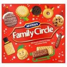 Mcvitie's Family Circle 720g Buy 1 get 1 Free £4.00 @ Tesco