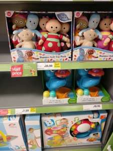 In the Night Garden Bumper Soft Toy Pack £20 instore @ Tesco Cardiff