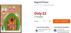 Magical Christmas Elf Door £2 - The Works
