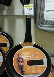 Jamie Oliver Black 30cm Frying Pan £2.60 instore @ Tesco