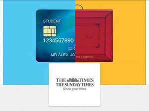 Student Subscribtion - FREE GIFT! the times