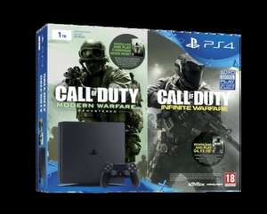 PS4 1TB Slim Call of Duty Infinite Warfare Legacy bundle + Overwatch (or Destiny the Collection) + Mafia 3 £319 @ Tesco direct