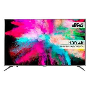 "Hisense 55M5500 LED HDR 4K Ultra HD Smart TV, 55"" With Freeview HD & Anyview Cast, Silver (NEW Model) £649.00 @ John Lewis"