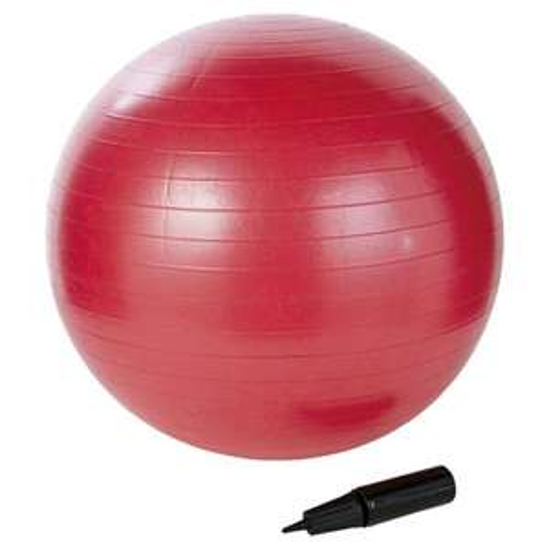 65cm gym ball, birthing ball, yoga ball  with pump  £4.50 @ tesco direct