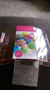 Cake Pop Holder only 99p instore @ Home Bargains