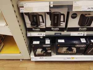 Dualit Studio Kettle (instore) & other Dualit deals @ Tesco - £23.04