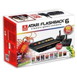 Atari Flashback 6 Classic Game Console & 100 Built-In Games (was £49.99) Now £39.99 at Argos