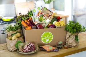 Half price Hellofresh Box £53.90 delivered with poss 35% cashback = £16 via quidco