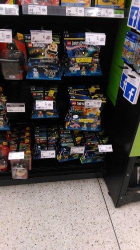 Lego dimensions fun packs £9 and level packs £19 @ asda