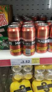 Magners cans x 4 £2.52 @ Tesco express Stroud