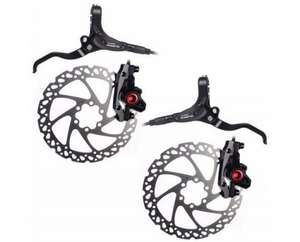 Clarks M2 Hydraulic Front And Rear Disc Brake Set with 160mm rotors – Parkers of Bolton £37.95