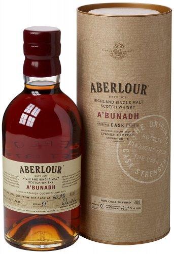 Aberlour A'Bunadh Cask (60.9%) Highland Single Malt Scotch Whisky £35 delivered @ Amazon