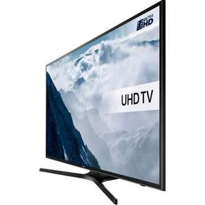 "Samsung UE55KU6000 55"" Smart 4K Ultra HD with HDR TV - Black £669 (£679 was £869 * save £190 ) (with code) @ Ao.com"