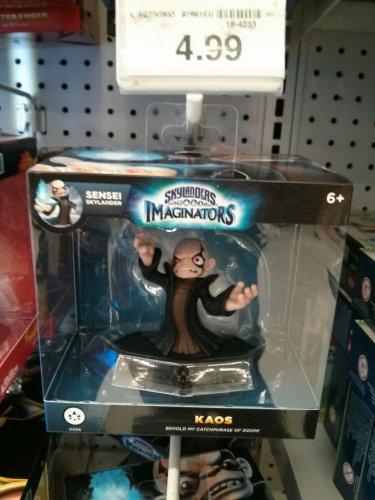 Skylanders Imaginators - Kaos Figurine - £4.99 instore @ Toys R Us