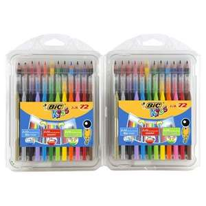 Bic Colouring Multi-pack 72 piece £5 @ Tesco Direct