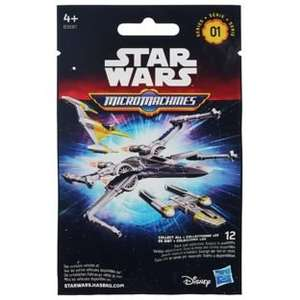 Star Wars Micro Machines The force awakens series 1 blind bag was £1.99 now 99p @Argos