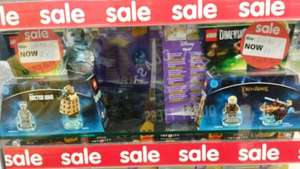 Lego Dimensions Add-on Packs now £7 in ASDA in store