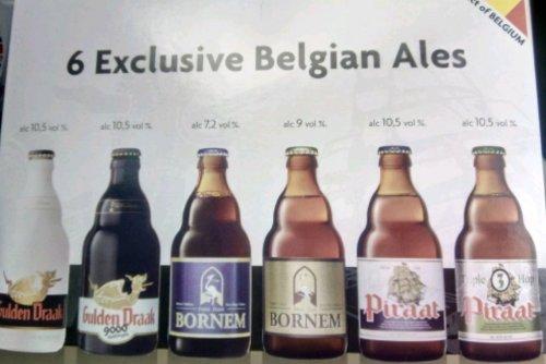 6 Belgian ales £10.49 @ Lidl