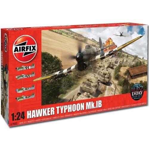 Airfix 1/24 Hawker Typhoon B1 £54.95 normally £99 limited stocks @ Jadlamracingmodels