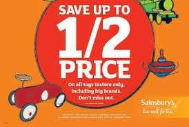 Sainsbury's Toy Event Prices Items/Prices Revealed! NOW LIVE