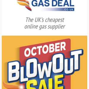 gasdeal.co.uk sale, all gas delivered and no deposit various prices on what you want...