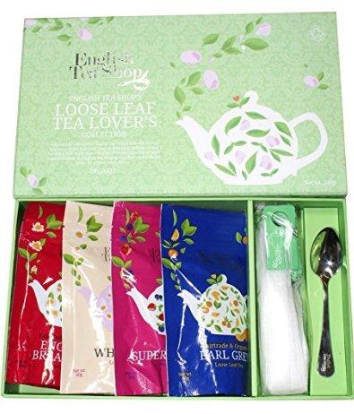 Amazon English Tea Shop Organic Loose Leaf Tea Lovers Assorted Gift Pack £3.90 RRP £19.23 Prime Add on item