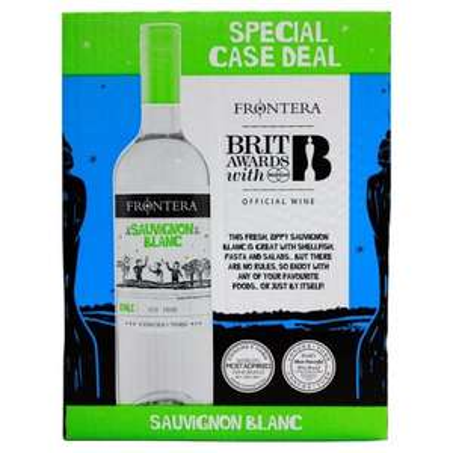 Frontera Carmenere or Sauvignon Blanc. Case of 6x 75cl £20 @ Morrisons