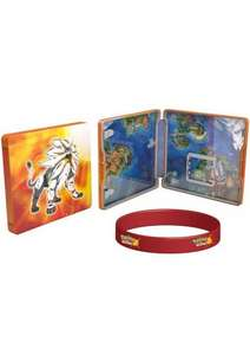 Pokemon Sun/Moon Steelbook edition & Bracelet £34.85 @ Simplygames