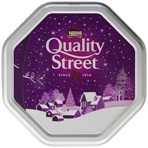 Quality Street Christmas Tin, 1.31kg £7.00 Prime / £11.75 Non Prime @ Amazon