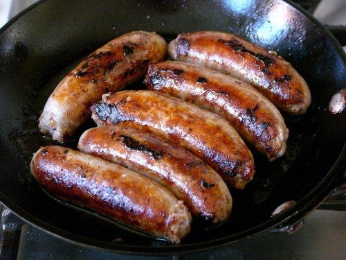 Half price ** Linda McCartney** sausages - £1 Tesco