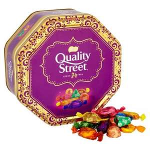 Quality Street Tin 1.315kg £7 @ Tesco