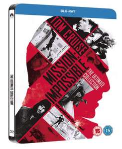 Mission Impossible - The Ultimate Collection Steelbook  £19.99 @ ZAVVI