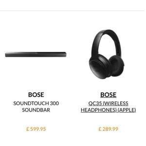 Bose sound touch 300 for only £539.99 @ Martin dawes