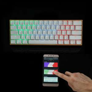 Anne PRO Bluetooth/Wired RGB Mechanical Gaming Keyboard £66.74 @ Banggood