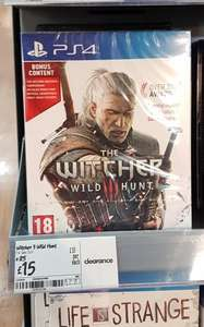 Witcher III Wild Hunt only £15 new instore at Asda! (PS4 & XBOX)