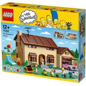 Lego 71006 Simpsons house £149.99 @ Toys r Us free delivery and free giraffe