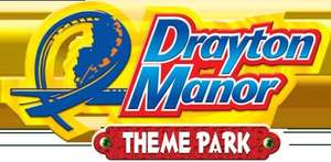 Drayton Manor 1 Day ticket  + Meal Deal for  £23, (book at least 1 day in advance.) @ attractiontix.co.uk