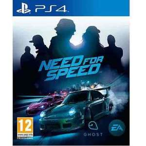 need for speed PS4 15.99 @ PSN