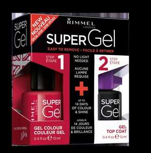 Free Rimmel Super Gel Nail Polish