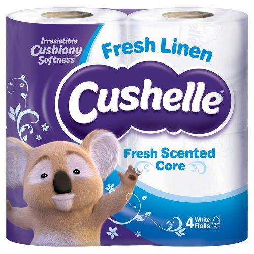Cushelle 4 Toilet Rolls £1.35 @ Wilko online free C&C.
